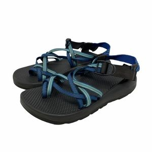 Chaco ZX/2 Womens Blue Sandals W9